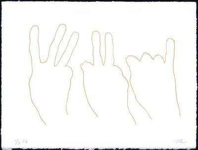 Susana Solano, 'Alrededor de una mano I', 2006