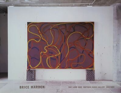 Brice Marden, 'Attendants, Bears, and Rocks Poster (Signed)', 2002