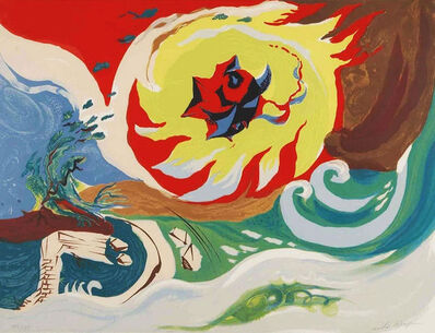 André Masson, 'WAVE OF THE FUTURE', 1976