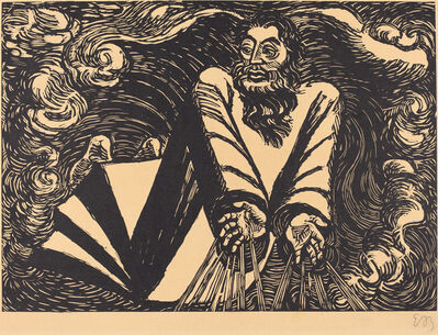Ernst Barlach, 'The First Day', 1920