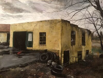 Miles Cleveland Goodwin, 'Old Tire Station', 2019