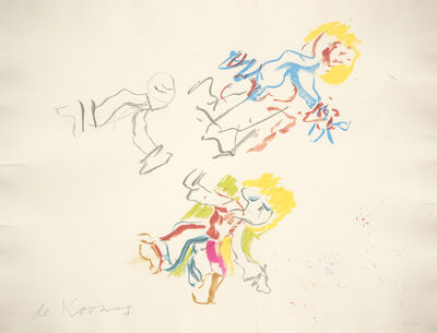 Willem de Kooning, 'For Lisa', 1984