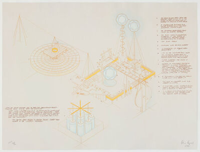Alice Aycock, 'How to Catch and Manufacture Ghosts (B)', 1981