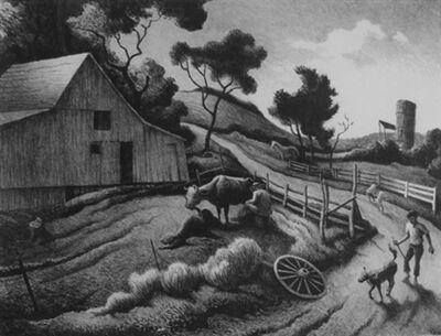 Thomas Hart Benton, 'Benton Farm', 1972