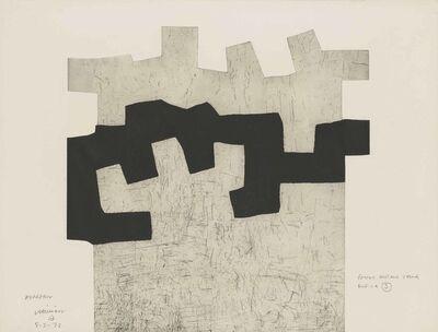 Eduardo Chillida, 'Aldikatu II', 1972
