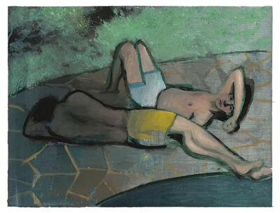Jonathan Wateridge, 'Short Walk to the Beach', 2020