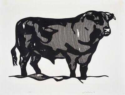 Roy Lichtenstein, 'Bull I from Bull Profile Series', 1973