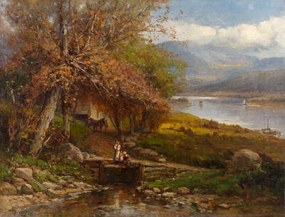 Andrew Melrose, 'Autumn in the Berkshire Hills, Massachusetts', 19th -20th Century