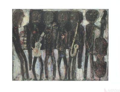 Jean Dubuffet, 'Jazz Band', 1990