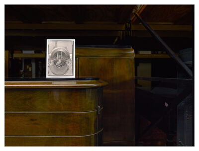 Esther Shalev-Gerz, 'Describing Labor - Mechanic in his Shrine - the heart of the turbine', 2012
