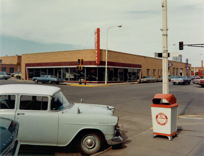 Stephen Shore, 'Intersection: Main Street and Second Avenue, Valley City, North Dakota, July 12, 1973'