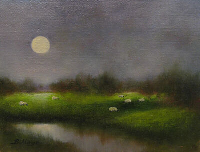 Penny Billings, 'Grazing By Moonlight', 2019