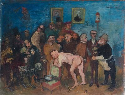 Franco Gentilini, 'I medici illustri', 1944
