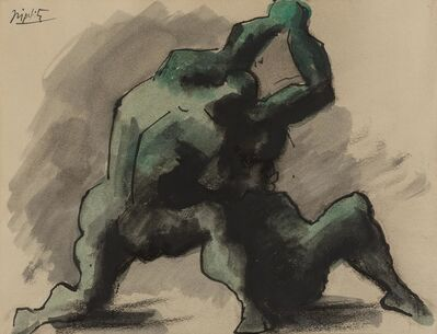 Jacques Lipchitz, 'Wrestlers'
