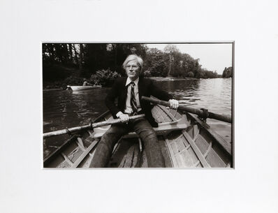 Christopher Makos, 'At the Bois de Boulogne (Warhol: Ten Images)', 1981 (printed 1989)