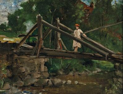 Julian Alden Weir, 'The Old Bridge'
