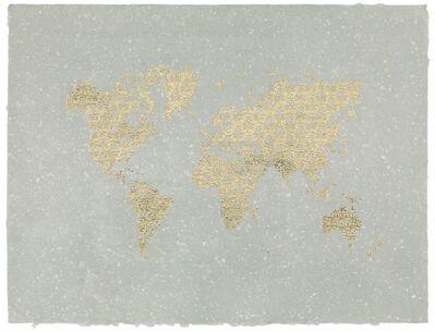 Santiago Montoya, 'World Map (Queen of Pain)', 2020