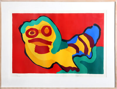 Karel Appel, 'Untitled - Caterpillar II', 1974