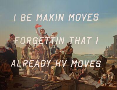 Shawn Huckins, 'The Jolly Flatboatmen: I Be Makin Moves...', 2015