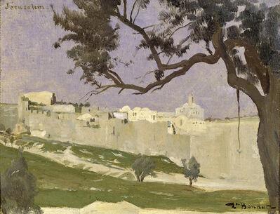 Léon Bonnat, 'View of Jerusalem', ca. 1868