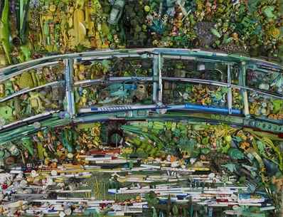Bernard Pras, 'La pont japonais', 2012