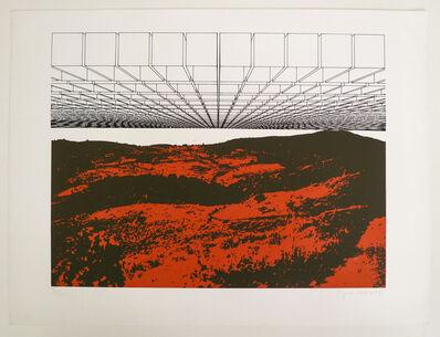 Regina Silveira, 'Destrutura para paisagem', 1983