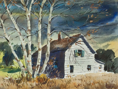 Henry Gasser, 'By the Farm'