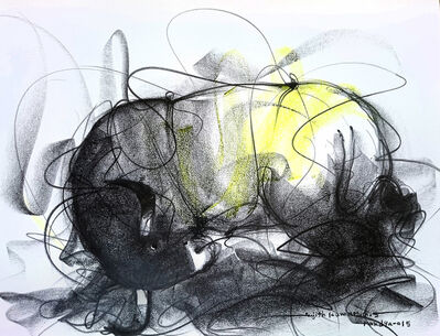 Sujth Kumar G.S. Mandya, 'Bull Drawing - 609', 2015