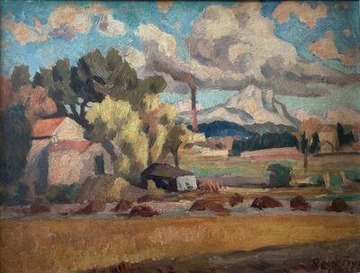 Roger Fry, 'Landscape with Mont Saint Victoire', 1919
