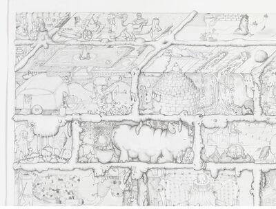 Paul Noble, 'Ah (detail)', 2010