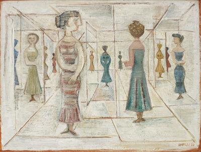 Massimo Campigli, 'Labirinto/Labirinto di vetro', 1956