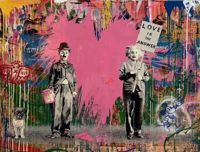 Mr. Brainwash, 'Juxtapose', 2019