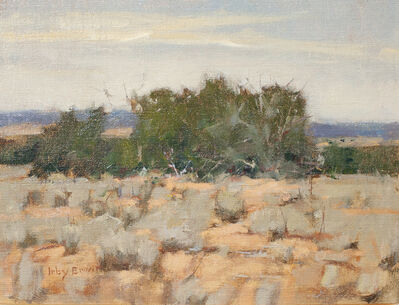 Irby Graves Brown, 'Chamisa Near a Thicket'