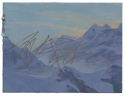 Ruprecht von Kaufmann, 'Berglandschaft', 2019
