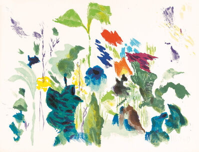 Max Weiler, 'Naturstück', 1989