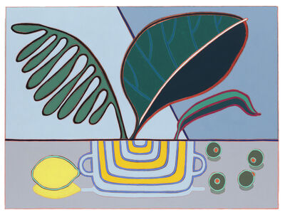 Holly Coulis, 'Plants with a Lemon and Olives', 2016