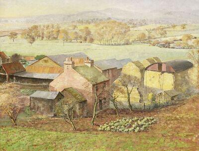S. Robert Watson, 'A LANDSCAPE WITH FARM BUILDINGS'