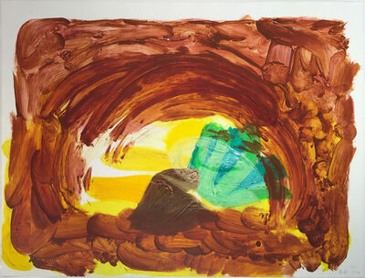 Howard Hodgkin, 'Vegetable', 2014