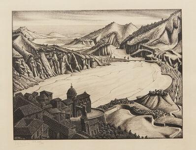 Maurits Cornelis Escher, 'Fiumara (of Stilo), Calabria', 1930