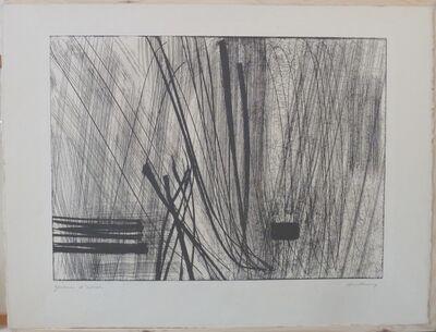 Hans Hartung, 'No title', 1970