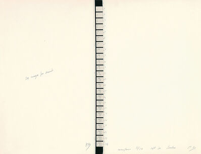 Marcel Broodthaers, '24 Images par seconde', 1970