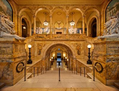 Ahmet Ertug, 'Boston Public Library, Grand Staircase', 2020
