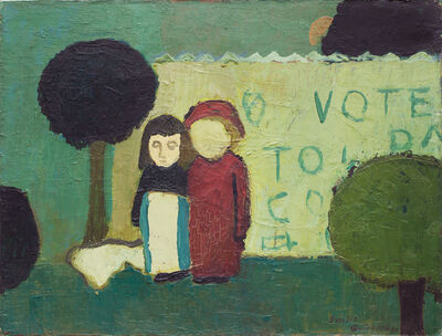 Emilia Gutiérrez, 'Pareja (Couple)', 1965-1975