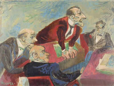 William Gropper, 'The Speaker'