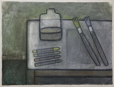 William Wright, 'Painter's table', 2018