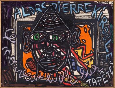Robert Combas, 'Alors Pierre Kiroule, le nouveau livre sur les tapêtes', 1993