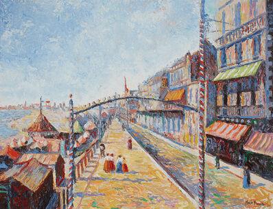Hugues Claude Pissarro, 'La Rue de la Plage (Beach Street)', ca. 1999