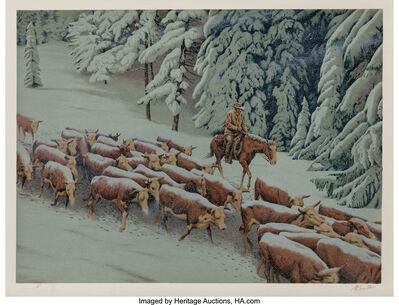Morton Künstler, 'Early Snow', 1977