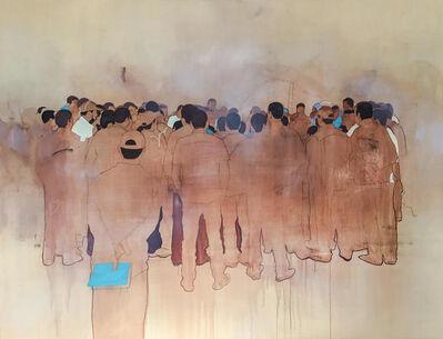 Nabil El Makhloufi, 'La Foule X', 2016