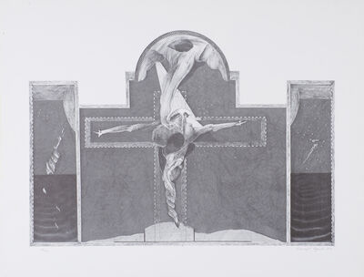 David Lynch, 'Untitled (Crucifix)', 1973
